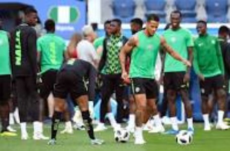 AFCON: Super Eagles Begins Training session in Ismailia