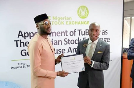 Tuface Idibia Unveiled As Stock Exchange Ambassador