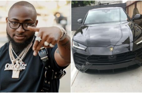 Davido Acquires Lamborghini Urus worth N72M
