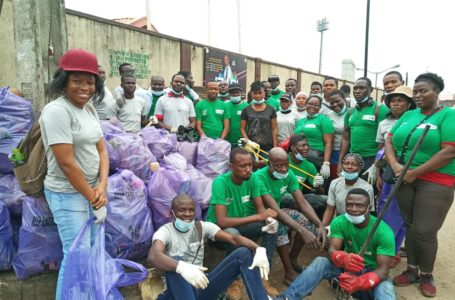 NGO partners Lawma, others to clear drainage in Agege