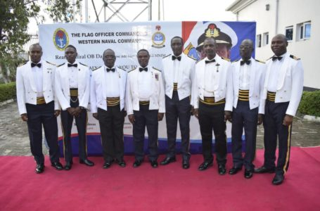 Western Naval Command Arrests 10 Vessels Over Maritime Crimes, Honors 9 Officers