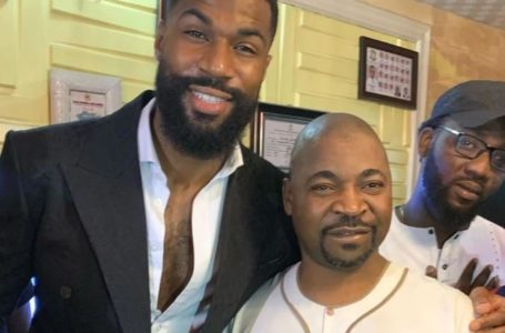 BBNaija's Mike Visits MC Oluomo At Oshodi Home