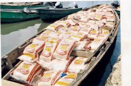 Navy Arrests 256 Bags of Smuggled Rice On Waterways