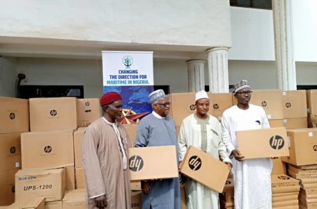 NIMASA Takes CSR To Another Level, Donates Materials to 10 Secondary Schools