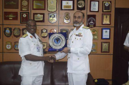 Pakistani Warships  Storm Nigeria